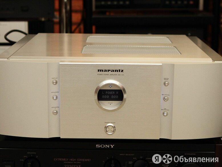 Усилитель мощности marantz sm-11s1 по цене 199990₽ - Усилители и ресиверы, фото 0