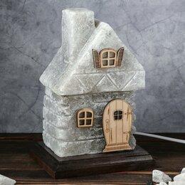 """Ароматерапия - Ваше здоровье Соляная лампа """"Сказочный домик"""", 22 см, 3-4 кг, 0"""