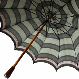 Другое - Зонтик винтажный с деревянной ручкой продам, 0