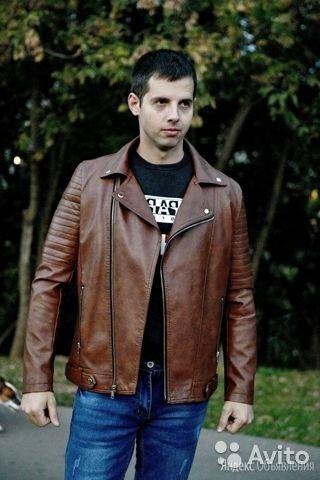 Куртка кожзам мужская по цене 5500₽ - Куртки, фото 0