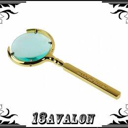 Лупы - Лупа металлическая, made in Russia, цвет золото или серебро, 0