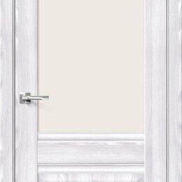 Межкомнатные двери - Межкомнатная дверь с экошпоном Прима-3 Riviera Ice   Magic Fog, 0