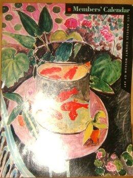 Искусство и культура - Member's calendar Los angeles museum of art 1986…, 0
