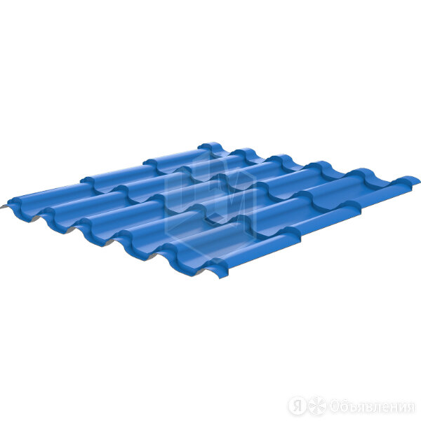 Металлочерепица Арарат RAL5015 Небесно-Голубой 0,45мм по цене 596₽ - Кровля и водосток, фото 0