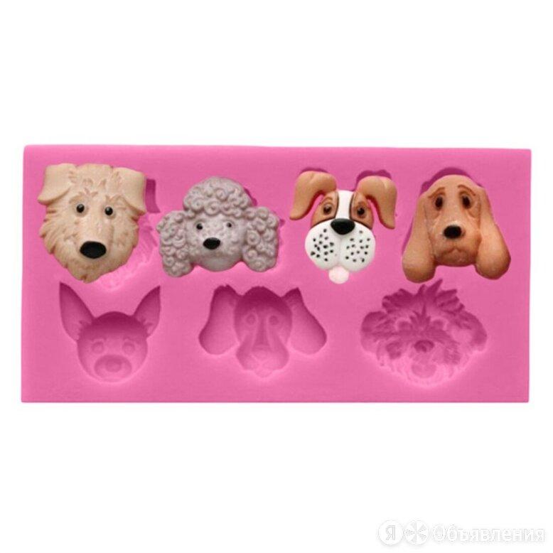 Силиконовый молд Собаки по цене 210₽ - Настольные игры, фото 0