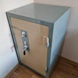 Сейфы - Большой огнестойкий сейф с кодовым замком, 0