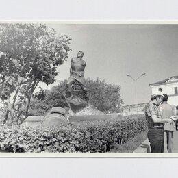 Фотографии, письма и фотоальбомы - Фото СССР фотография 1980-е Казань памятник Муса Джалиль Голубовский, 0