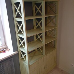 Стеллажи и этажерки - Стеллаж в скандинавском стиле, 0