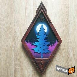 """Ночники и декоративные светильники - Ночник """"Полнолуние в лесу"""" , 0"""