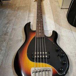 Электрогитары и бас-гитары - Бас гитара Music man stingray 5 1996 года, 0