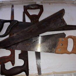 Пилы, ножовки, лобзики - Советская ножовка по дереву, 0
