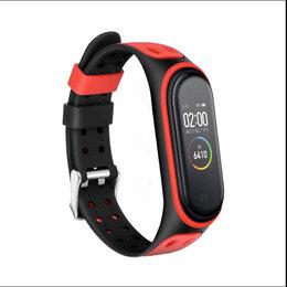 Аксессуары для умных часов и браслетов - Ремешок для фитнес-браслета Xiaomi Mi Band 6 с застежкой (красный), 0