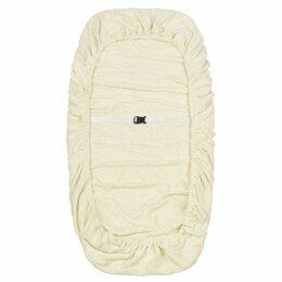 Чехлы для мебели - Чехол на кушетку махровый 90*215см слоновая кость, 0
