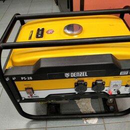 Электрогенераторы и станции - Бензогенератор Denzel PS28, 0
