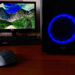 Настольные компьютеры - Мощный игровой ПК+Вин10, 0