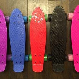 Скейтборды и лонгборды - Пенни борд, Скейтборд со светящимися колесами, 0