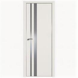 Межкомнатные двери - Межкомнатные двери Profil Doors 16E ДаркВайт Стекло Lacobel Серебряный лак Кр..., 0
