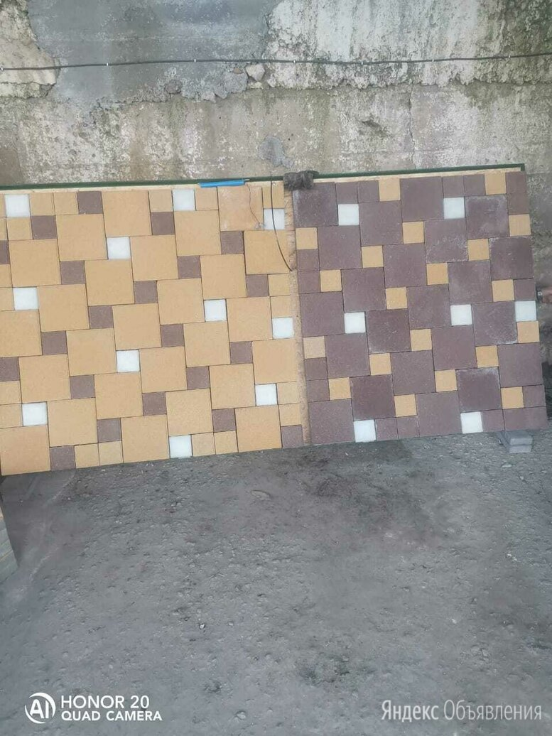 Тротуарни плитка по цене 500₽ - Тротуарная плитка, бордюр, фото 0