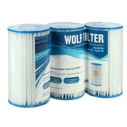 Фильтры, насосы и хлоргенераторы - Картридж для очистки воды в бассейнах для фильтрующих насосов INTEX, тип B, 3..., 0