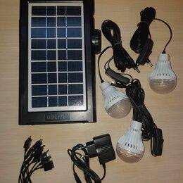 Солнечные батареи - Солнечная электро станция с прожектором , 0