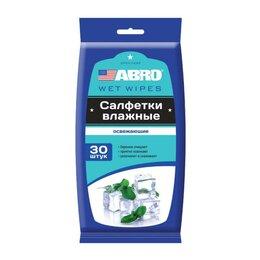 Влажные салфетки - Салфетки влажные освежающие ABRO, 0
