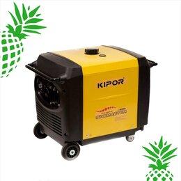 Электрогенераторы и станции - Бензиновый генератор Kipor IG6000, 0