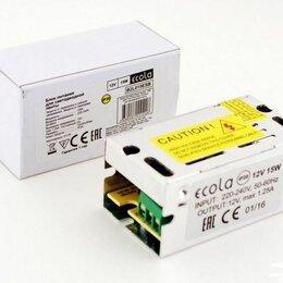 Блоки питания - Блок питания для светодиодной ленты 12в 15вт, 0