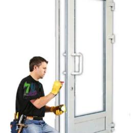 Входные двери - Ремонт пластиковых дверей, 0