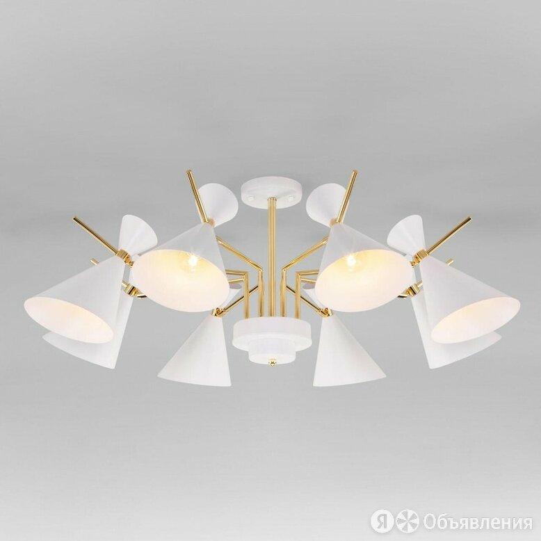Потолочная люстра Eurosvet Apart 70114/8 белый по цене 22000₽ - Люстры и потолочные светильники, фото 0