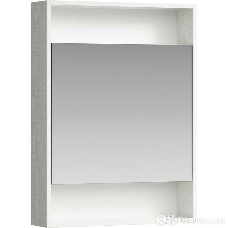 Aqwella Зеркало шкаф Aqwella Сити 60 SIT0406DK (дуб канадский) по цене 6200₽ - Мебель для кухни, фото 0