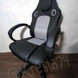 Компьютерные кресла - Игровое компьютерное кресло с режимом качания, 0