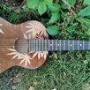 Классическая гитара с гравировкой по цене 6500₽ - Акустические и классические гитары, фото 1