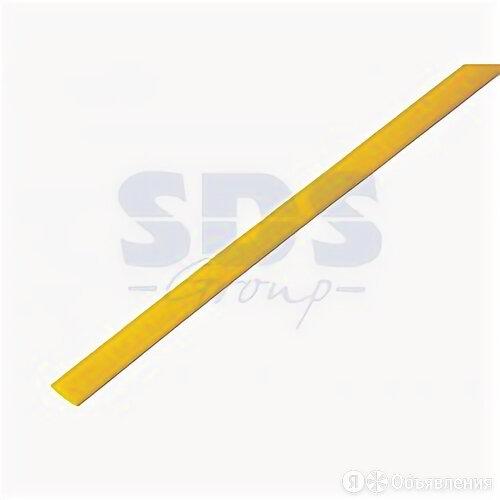 Термоусадочная трубка ТУТнг 6/3 желтая REXANT (50/50/1500) по цене 25₽ - Товары для электромонтажа, фото 0