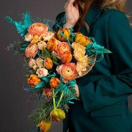 Цветы, букеты, композиции - Букет «Весеннее настороение» - L (40см), 0
