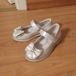 Балетки, туфли - Туфельки праздничные для девочек, 0