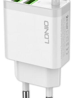 Запчасти и аксессуары для планшетов - зарядное устройство LDNIO A321 2USB*3,1A +…, 0