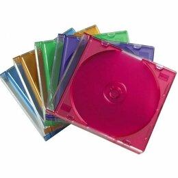 Сумки и боксы для дисков - Коробка Buro для CD/DVD Slim Case (упаковка 10шт), 0