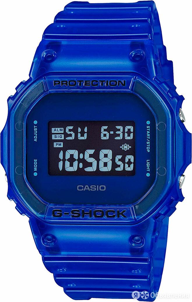 Наручные часы Casio DW-5600SB-2ER по цене 10540₽ - Наручные часы, фото 0