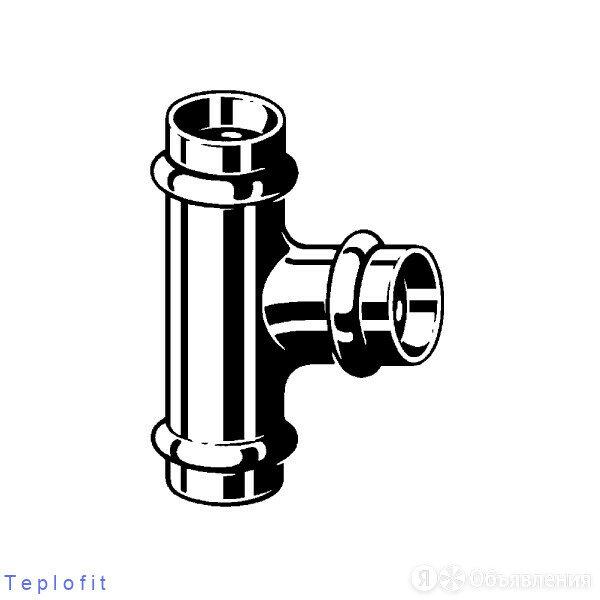 Тройник Profipress c SC-Contur 18x18x15 по цене 1147₽ - Комплектующие водоснабжения, фото 0