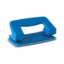 Канцелярские принадлежности - Дырокол 10 л. P201BU_130 металл, синий/12, 0