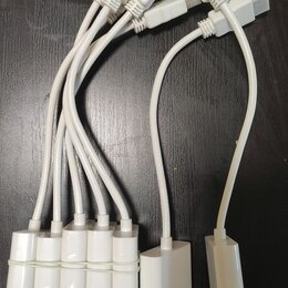 Компьютерные кабели, разъемы, переходники - Переходник hdmi - VGA (эмулятор монитора), 0