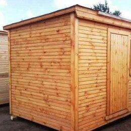 Готовые строения - Бытовка деревянная новая, 0