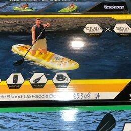 Виндсерфинг - Надувная SUP-доска Aqua Cruise 320 x 76 x 12 см с веслом, насосом, 0