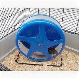 Игрушки и декор  - SAVIC Колесо пласт. на мет. подставке для грызунов ф 18 см S0112 , 0