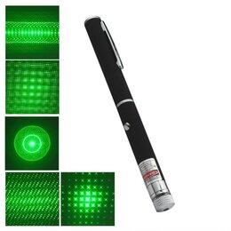 Аксессуары для проекторов - Зеленый лазер - зеленая лазерная указка 5 насадок, 0