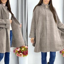 Пальто - Пальто альпака большого размера р-ры 56-76, 0