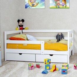 Кровати - Детская кровать  с ящиками из массива, 0