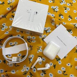 Наушники и Bluetooth-гарнитуры - Коробка apple airpods 2 копия люкс , 0