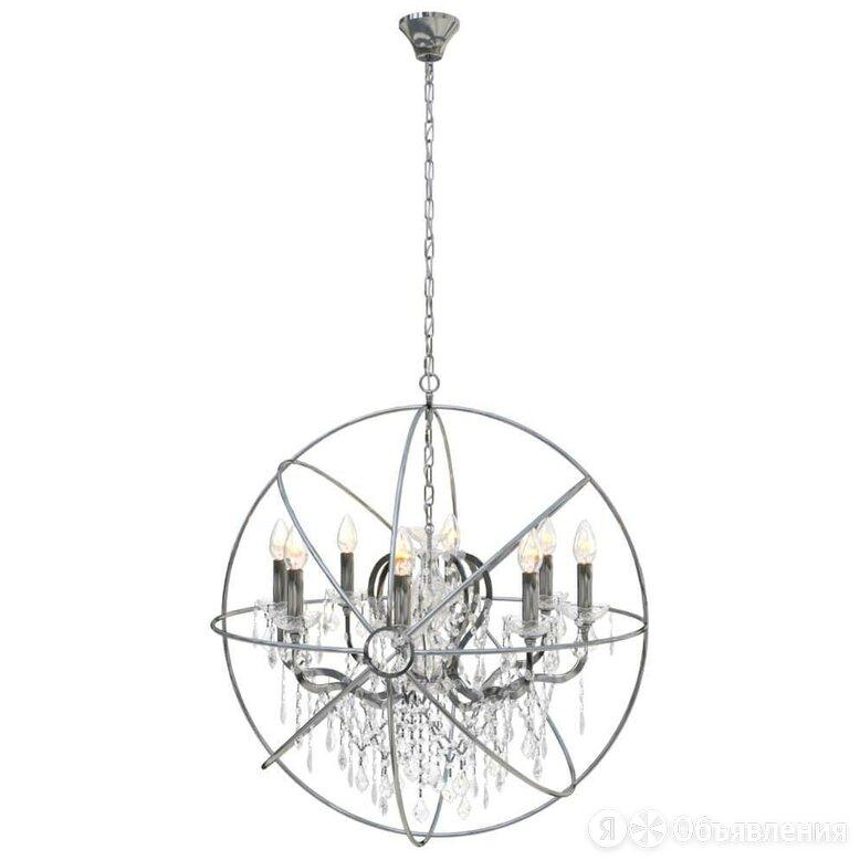 Подвесная люстра Loft IT Crystal Wins Loft1896/8 по цене 68440₽ - Люстры и потолочные светильники, фото 0