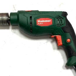 Дрели и строительные миксеры - Дрель hammer UDD650LE, 0